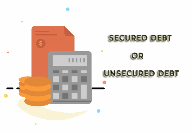 secured unsecured debt