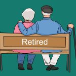 retire old folk