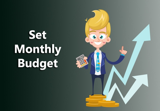 set monthly budget